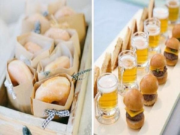 menu aperitivos boda