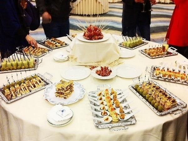 aperitivos frios para bodas