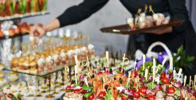 aperitivos para boda