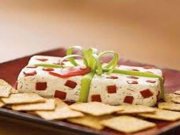 aperitivos de jamón y queso