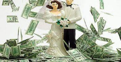 cuánto dinero se da en una boda