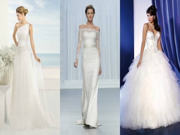 metros de tela para vestido de novia