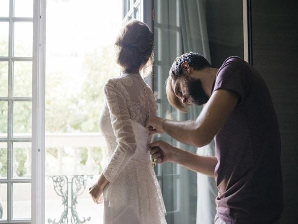 comprar tela para vestido de novia