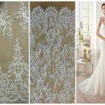 telas para vestido de novia