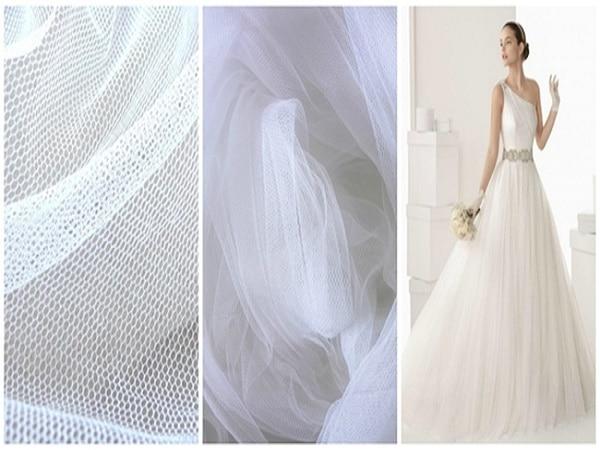 las mejores telas para vestidos de novia. escoge entre las más perfectas