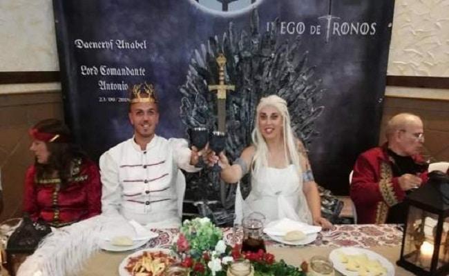 boda inspirada en juego de tronos