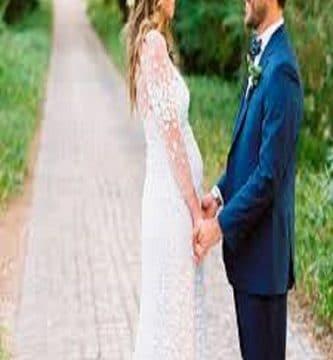 vestidos de boda para embarazadas