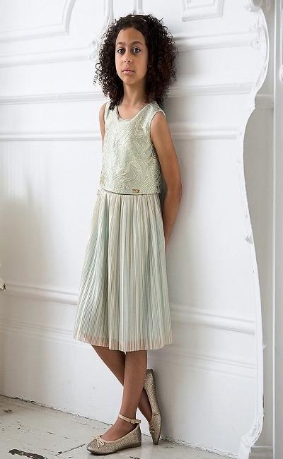 Vestido de novia para niñas Corte Inglés