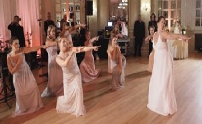 flashmob boda