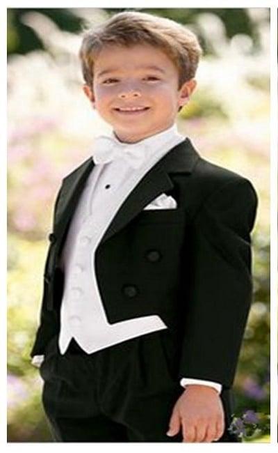 trajes elegantes de boda para niños